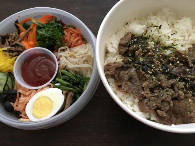 BopShop: bibimbop with beef (bulgogi)