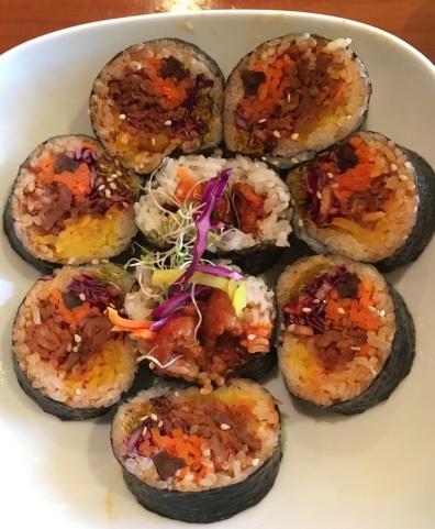 bowl'd: kimbop with beef (bulgogi)