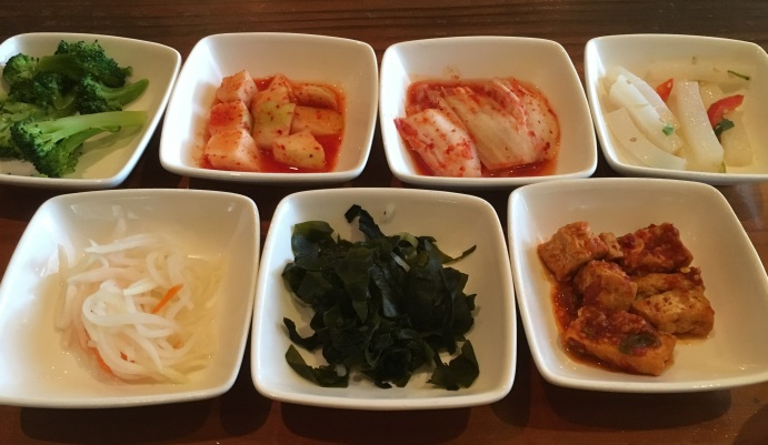 bowl'd: assortment of banchan